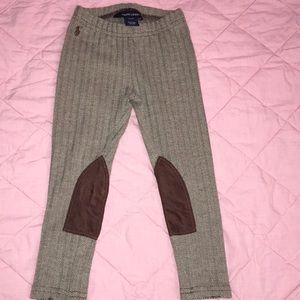 Ralph Lauren Girls Leggings- Size 3T
